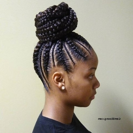 Cornrow Braids Ponytails Inspirational New Cornrow Ponytail Intended For Most Recently Cornrows Hairstyles With Ponytail (View 7 of 15)