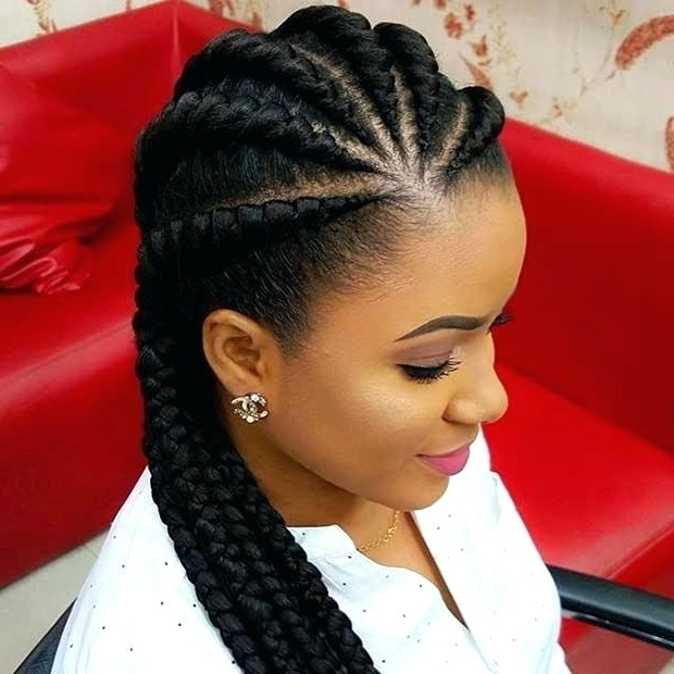 Featured Photo of Cornrow Hairstyles For Black Hair