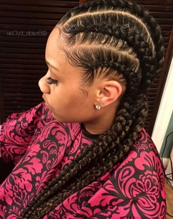 Cornrow Hairstyles Going Back New 58 Beautiful Cornrows Hairstyles With Regard To Most Current Cornrows Hairstyles Going Back (View 4 of 15)