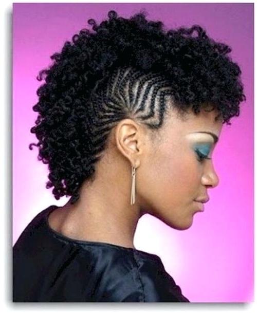 Cornrow Styles For Short Hair Cornrows Hairstyles For Black Women Regarding Latest Cornrows Hairstyles For Short Hair (View 15 of 15)