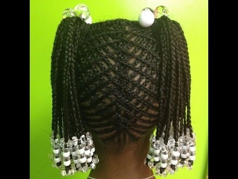 Cornrows Hairstyles For Little Girls : Kids Hairstyles For Natural For Recent Cornrows Hairstyles For Little Girl (View 3 of 15)