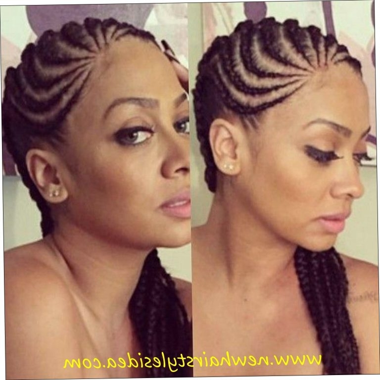 Cornrows Styles For Oval Faces Cornrow Hairstyles For Round Faces In Most Recent Cornrows Hairstyles For Round Faces (View 10 of 15)