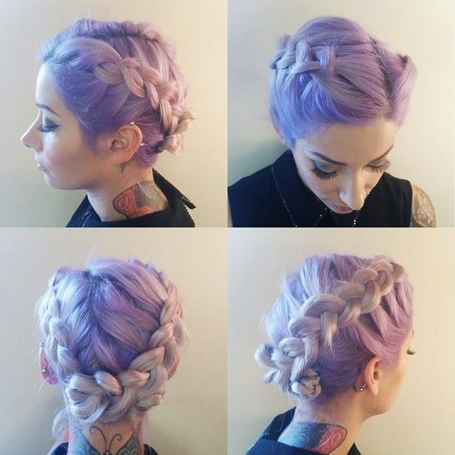 Featured Photo of Cotton Candy Updo Hairstyles