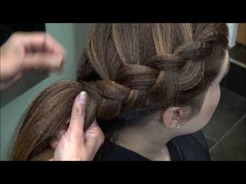Crimped (Side) Inverted French Plait (View 10 of 15)