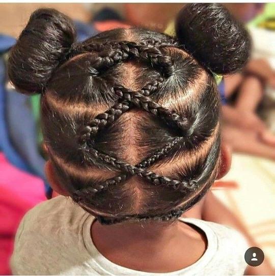 Criss Cross Braided Hair | Urban Hairstyles ? Natural Hair ? Sew Regarding 2018 Mohawk With Criss Crossed Braids (View 6 of 15)