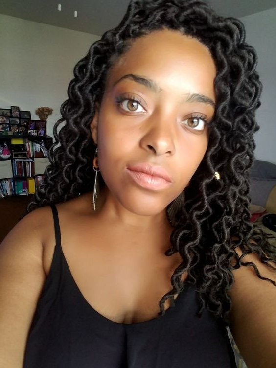 Crochet Braids Curly Wavy Faux Locs (View 13 of 15)
