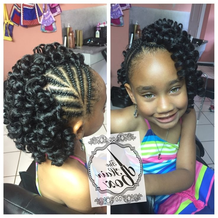 Crochet Braids For Little Girls | Braids | Pinterest | Crochet Braid For Most Up To Date Cornrows Hairstyles For Little Girl (View 12 of 15)