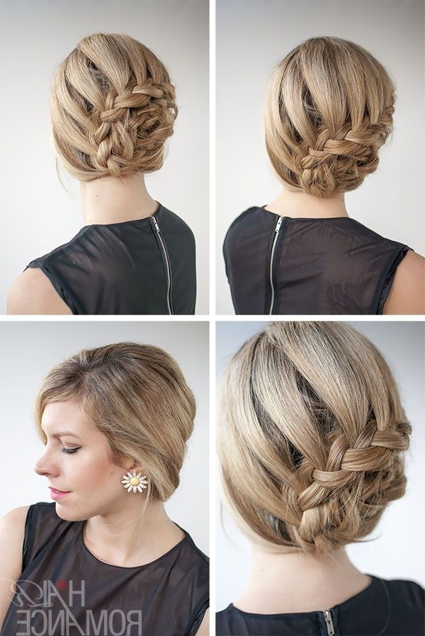 Curved Lace Braid Hairstyle Tutorial Inspirednicole Kidman At Pertaining To Most Recently Braids Hairstyles With Curves (View 15 of 15)