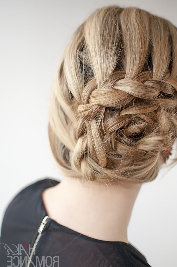 Curved Lace Braid Hairstyle Tutorial Inspirednicole Kidman At Regarding Most Up To Date Unique Braided Up Do Hairstyles (View 3 of 15)