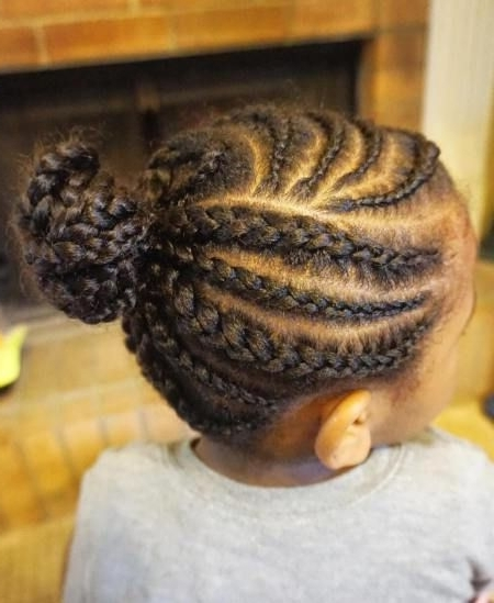 Curvy Cornrows For Little Black Girls – 10Mbc Throughout Latest Long Curvy Braids Hairstyles (View 15 of 15)