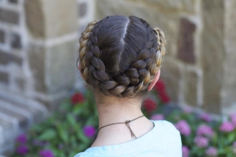 Cute And Easy Gymnastics Hairstyles   Nimble Sports Gymnastics With Regard To Current Braided Gymnastics Hairstyles (View 4 of 15)