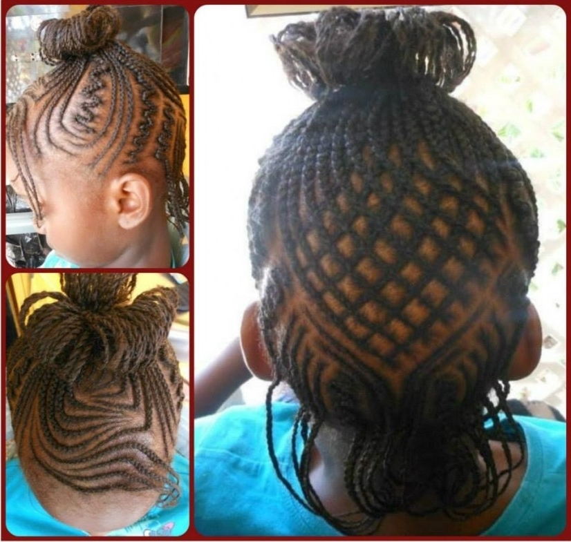 Cute Braided Hairstyle For Kids – Youtube   Hairstyles And Haircuts Intended For Best And Newest Cute Braided Hairstyles (View 15 of 15)