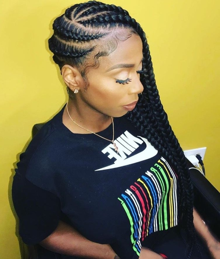 Cute Braided Hairstyles Black Girls Braid For The Holidays Debbs Throughout Current Black Girl Braided Hairstyles (View 10 of 15)