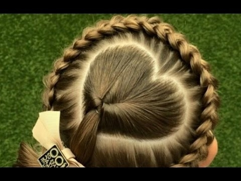 Cute Braided Hairstyles For Little White Girls – Youtube Throughout Most Recently Braided Hairstyles For White Hair (View 9 of 15)