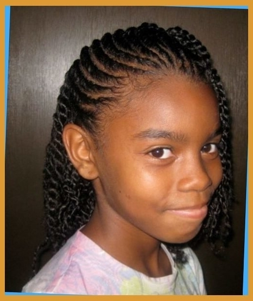 Cute Braided Hairstyles For Short African American Hair Clever Inside Newest Braided Hairstyles For Short African American Hair (View 7 of 15)