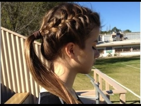 Cute Braided Hairstyles For White Girls – Youtube With Most Recent Braided Hairstyles For White Hair (View 5 of 15)