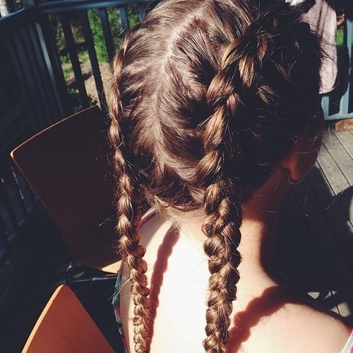 Cute Braided Pigtails Pictures, Photos, And Images For Facebook In Most Up To Date Braided Pigtails (View 8 of 15)