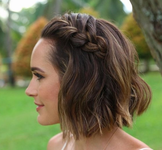 Cute French Braids Hairstyles For Most Current Sculptural Punky Ponytail Braids (View 15 of 15)