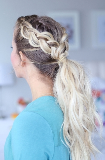 Day To Night Dutch Braid Hairstyles + 2 Ways To Wear Them! Pertaining To Latest Dutch Braid Hairstyles (Gallery 3 of 15)