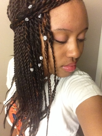 Desire My Natural!: June 2015 With Most Recent Braided Hairstyles With Jewelry (View 9 of 15)