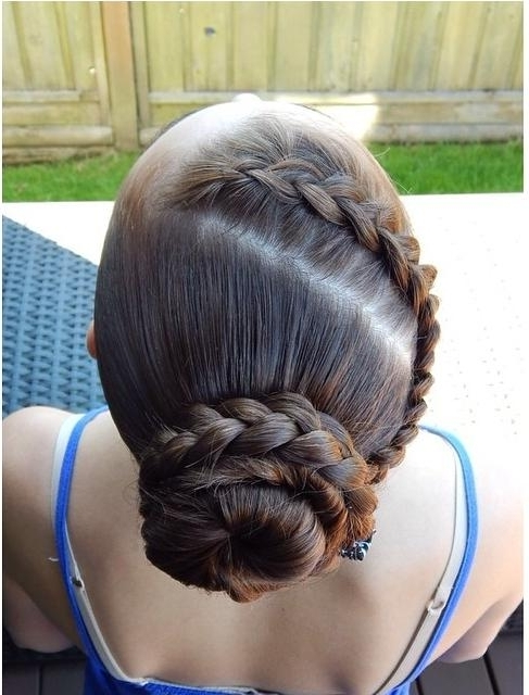 Diagonal Dutch Braid Regarding Most Recent Diagonally Braided Ponytail (Gallery 9 of 15)