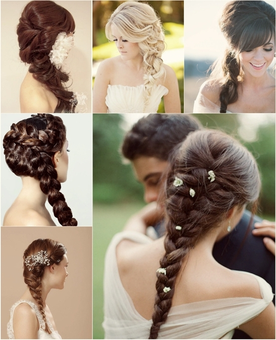 Different Hairstyle For Wedding 7 Braided Hairstyles For Wedding In In Most Recent Braided Hairstyles For Bridesmaid (View 14 of 15)