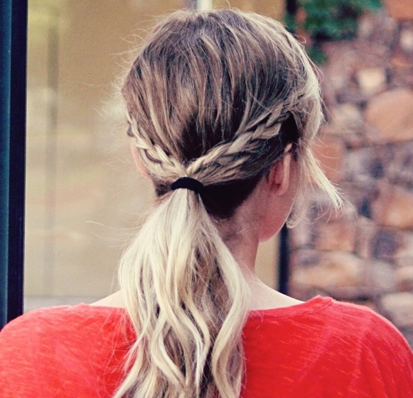 Different Ponytails – Hair World Magazine With Regard To Current Blonde Pony With Double Braids (Gallery 8 of 15)