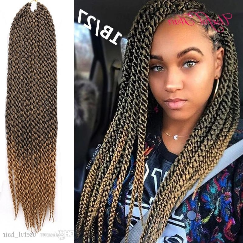 Different Style Cubic Twist Crochet Braids Hair 120G 3D Cubic Within Recent Twist From Box Braids Hairstyles (Gallery 6 of 15)