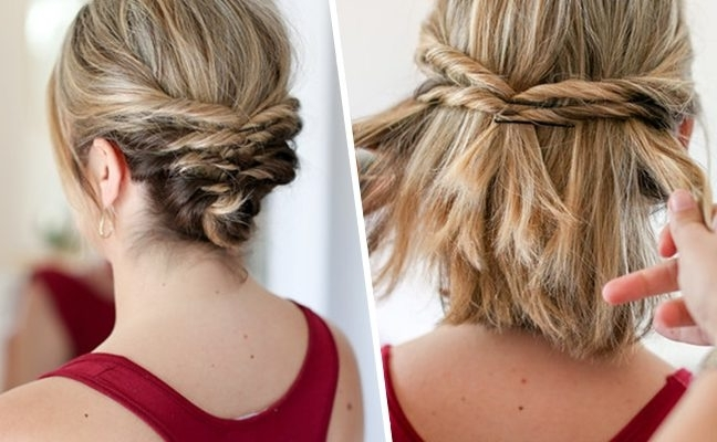 Diy Braided Hair Do Designs | Hair Highlights Pertaining To Most Recently Diy Braided Hairstyles (Gallery 15 of 15)