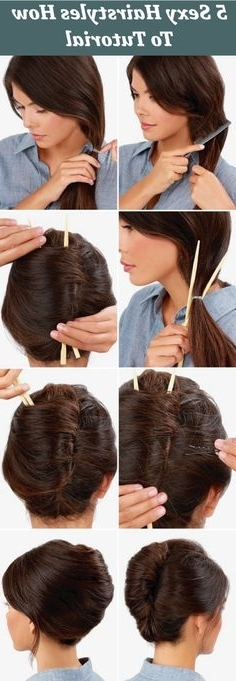 Diy Knotted Bun Wedding Hairstyle | Diy Wedding Tutorials Within Latest Exotic Twisted Knot Hairstyles (Gallery 13 of 15)