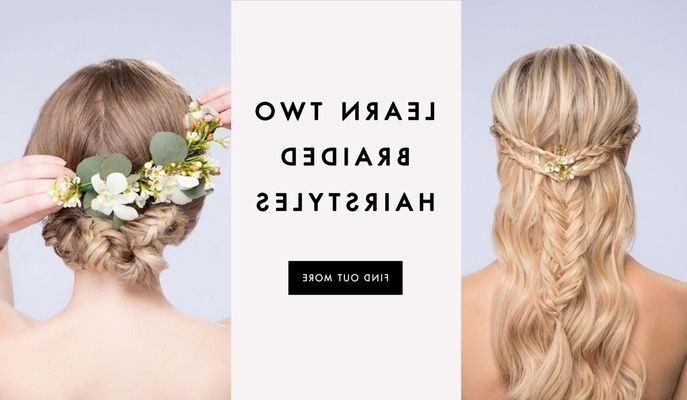 Diy Wedding Hairstyles: Learn How To Style Two Looks – Inside Weddings Regarding Most Recently Diy Braided Hairstyles (View 7 of 15)