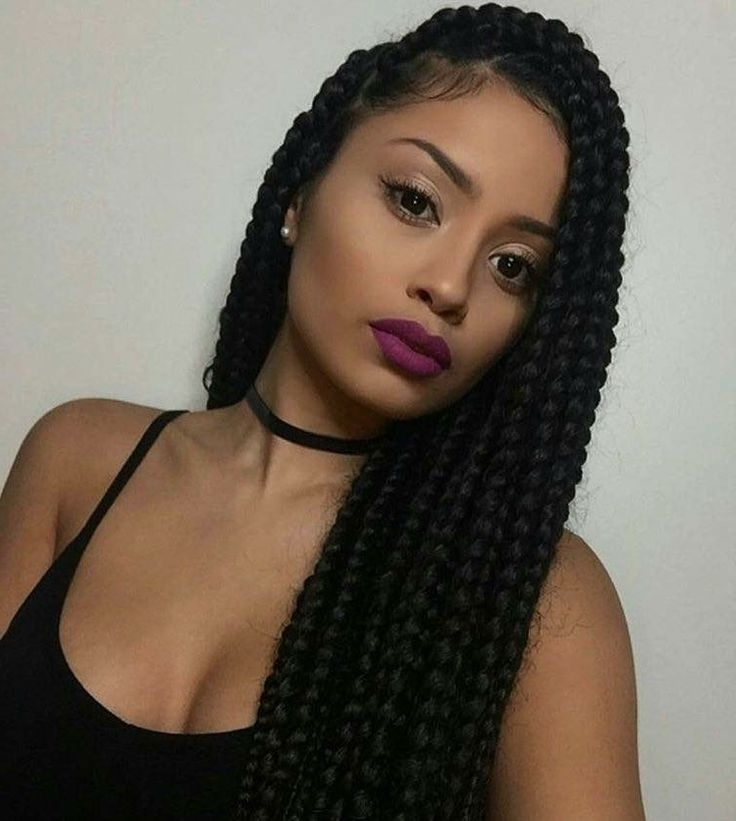 Do You Know That You Can Care For Your Hair With Vinegar? For 2018 Twist From Box Braids Hairstyles (View 11 of 15)