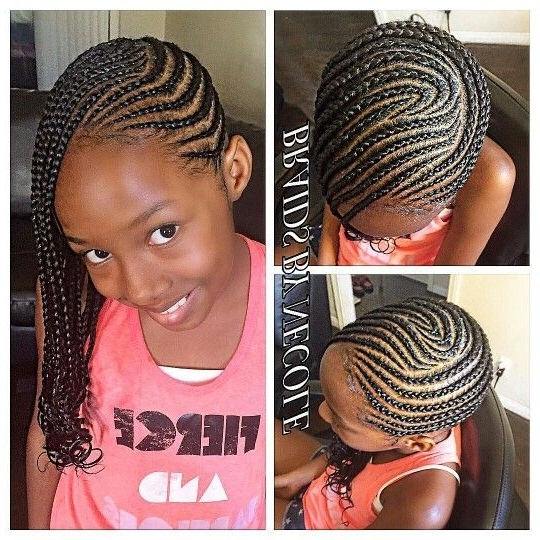Don't Know What To Do With Your Hair: Check Out This Trendy Ghana Regarding Newest Cornrows Hairstyles For Ladies (View 9 of 15)