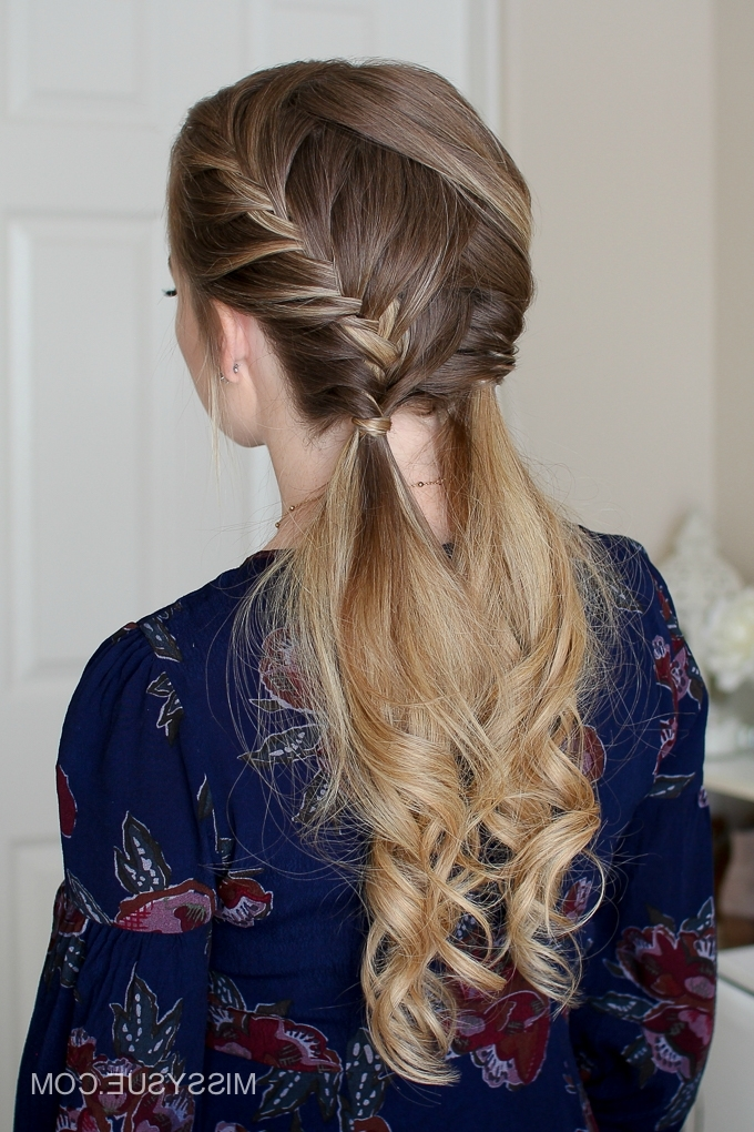 Double Fishtail French Braids | Missy Sue With Regard To Most Current Two French Braids And Side Fishtail (View 6 of 15)