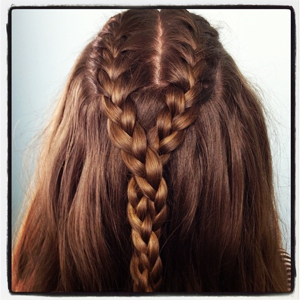 Double French Braid And Twist | Braid Hairstyles | Cute Girls Hairstyles In 2018 Double French Braid Crown Hairstyles (View 11 of 15)