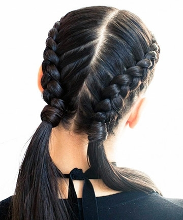 "Double French Braids For ""it"" Girls Everywhere, 25 Pretty French In Most Recently Simple French Braids For Long Hair (Gallery 10 of 15)"
