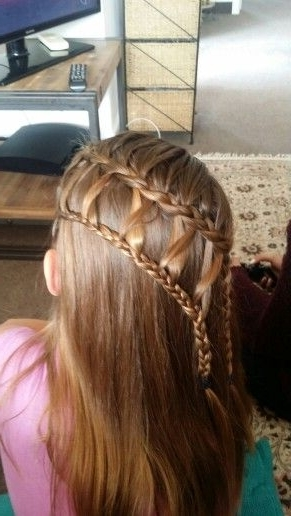 Double Lattice Braid | Hairstyles | Pinterest With Regard To Most Recently Lattice Weave With High Braided Ponytail (View 10 of 15)
