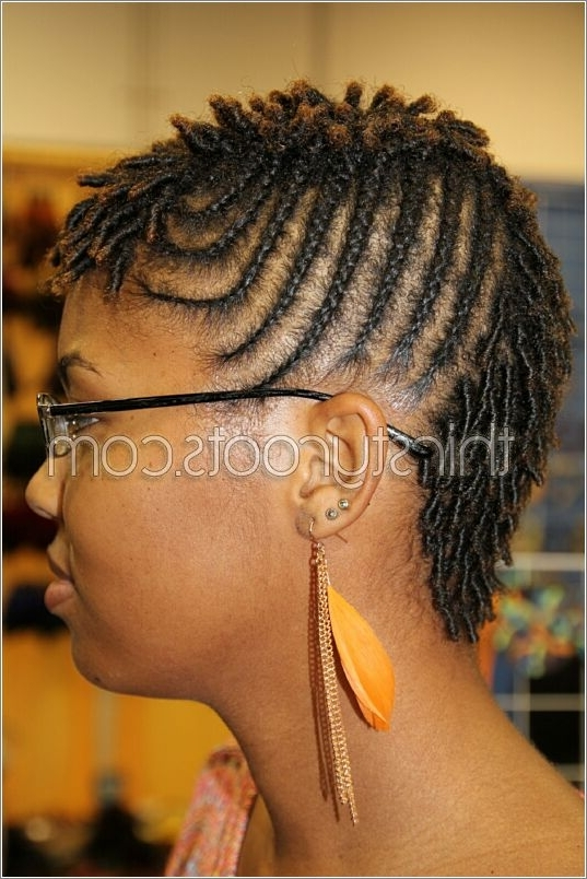 Dreadlocks Twists Braids Intended For Current Braided Dreadlock Hairstyles For Women (Gallery 13 of 15)
