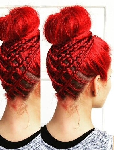 Dutch Braid | Donalovehair Pertaining To Current Braided Hairstyles For Red Hair (View 8 of 15)