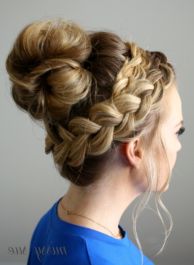 Dutch Braided Top Knot | Pinterest | Messy Buns, Dutch And Hair Style For Most Up To Date Missy Sue Braid Hairstyles (View 15 of 15)