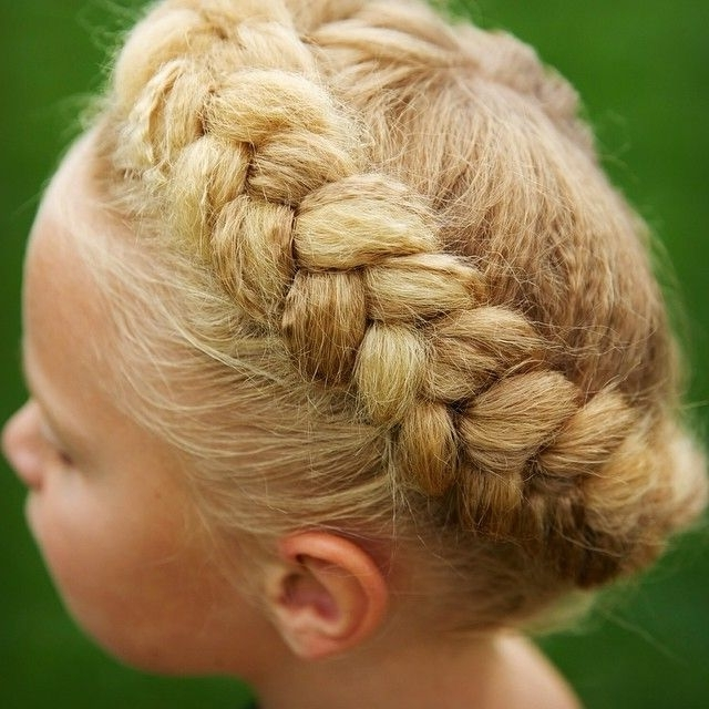 Dutch Crown Braid Micro Crimp Texture Tool | Jehat Twins Hair Within Best And Newest Crimped Crown Braids (View 4 of 15)