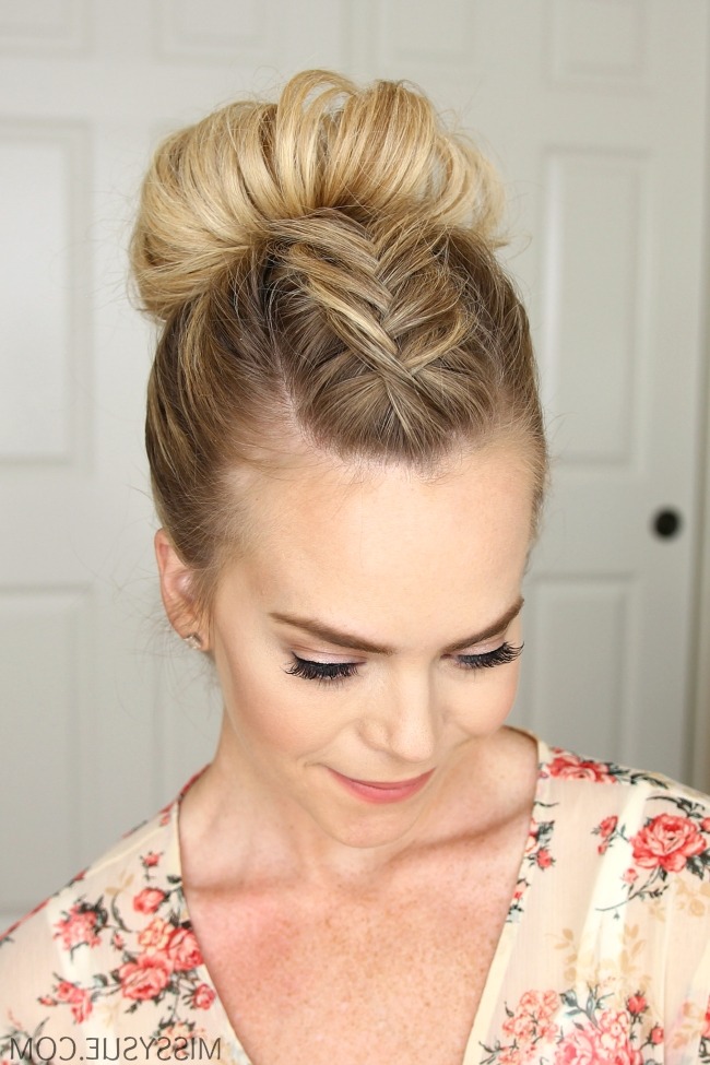 Dutch Fishtail Mohawk Braid – Missy Sue | Everyday Hairstyles Within Current Missy Sue Braid Hairstyles (Gallery 5 of 15)