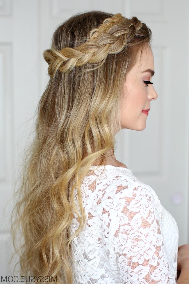 Dutch Halo Braid | Missy Sue In Current Halo Braid Hairstyles (Gallery 12 of 15)