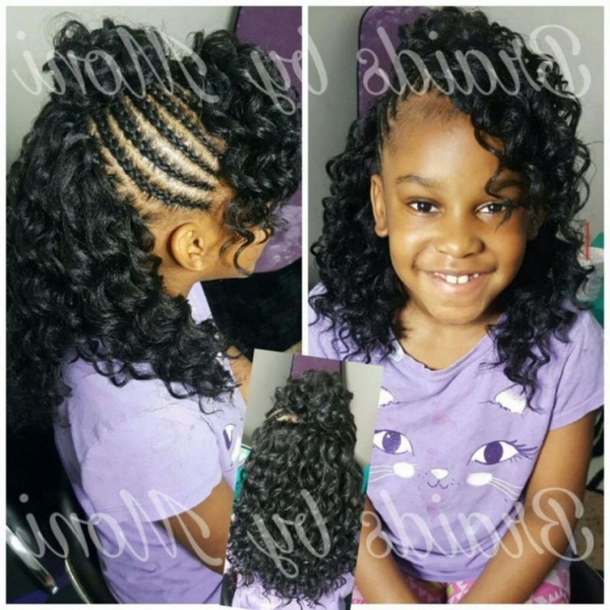 ? 24+ Nice Braiding Hairstyles For Kids: Hairstyles ~ Kids Braided Intended For Best And Newest Braided Hairstyles For Kids (View 10 of 15)