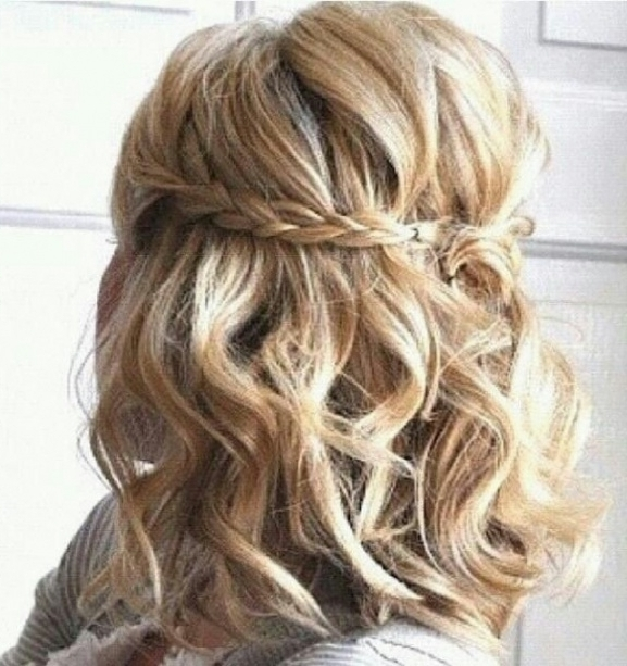 ? Braided Curly Hairstyles Pertaining To Most Recent Braid And Curls Hairstyles (View 13 of 15)