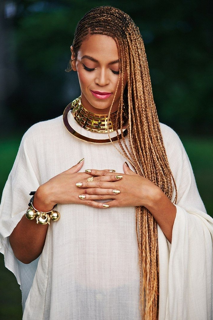 ? Beyonce ? When Jesus Says Yes Nobody Can Say No #cornrowsbeyonce In Latest Beyonce Braided Hairstyles (View 2 of 15)