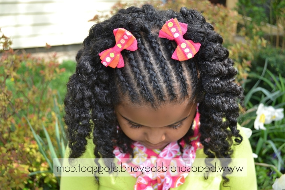 Easter Hairstyles For Little Girls Natural Hair | Medium Hair Styles Throughout Most Up To Date Easter Braid Hairstyles (View 12 of 15)