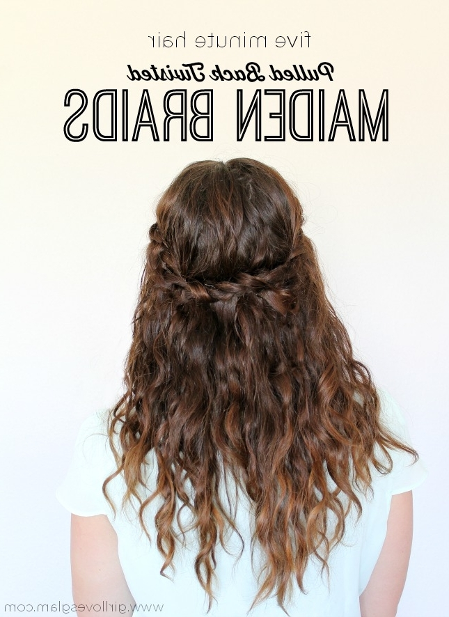 Easy Archives – Girl Loves Glam Pertaining To Latest Braided Glam Hairstyles (View 10 of 15)