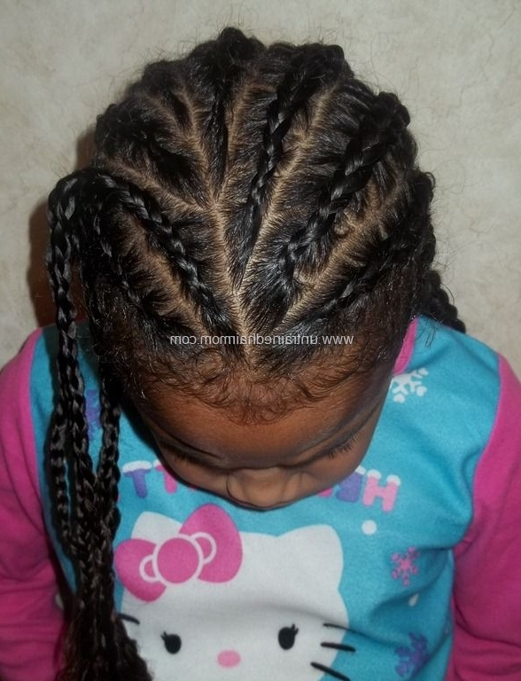 Easy Basic Creative Cornrow Styles | Braids | Pinterest | Cornrow intended for Most Up-to-Date Simple Cornrows Hairstyles