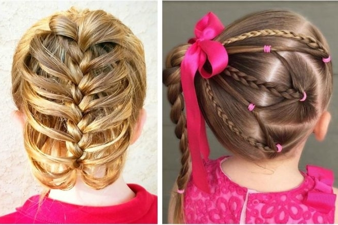 Easy Braid Hairstyles For School   Mum's Grapevine Throughout Current Simple French Braids For Long Hair (View 7 of 15)